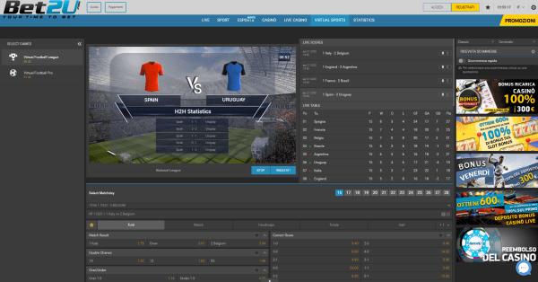 sport virtuali, scommesse virtuali, calcio virtuale