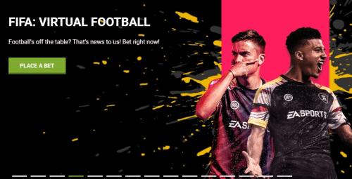 22Bet scommesse sport virtuali, esports (FIFA 20) e casinò