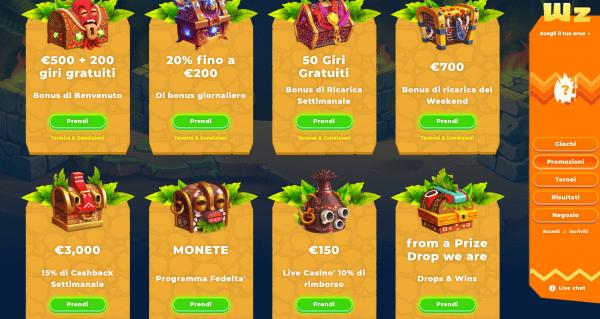 Wazamba Casino Bonus Online