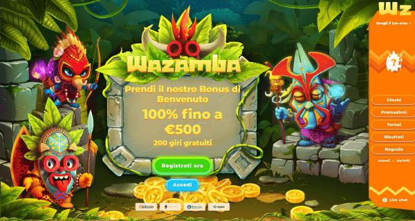 Wazamba casino recensioni