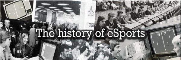 Origini, albori, storia esports, scommesse esport