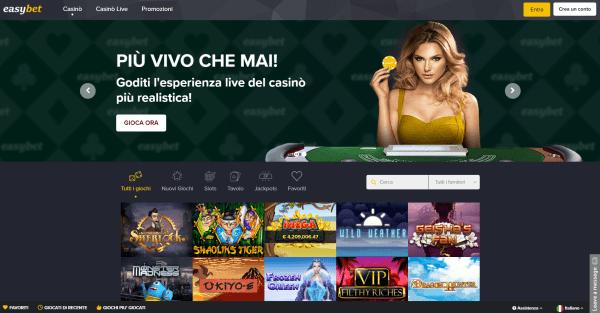 Recensione easyBet casino