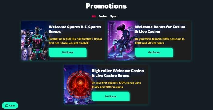 casinozer bonus e promozioni online
