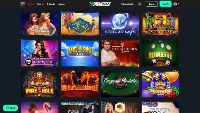 casinozer slot machine