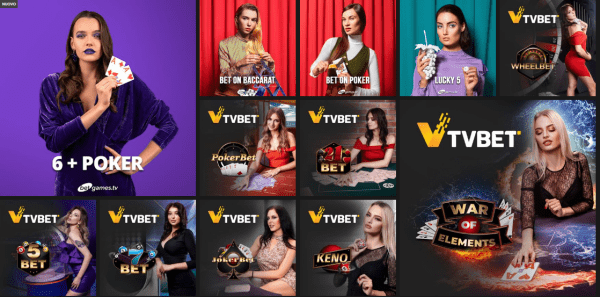 Selectbet giochi TvBet