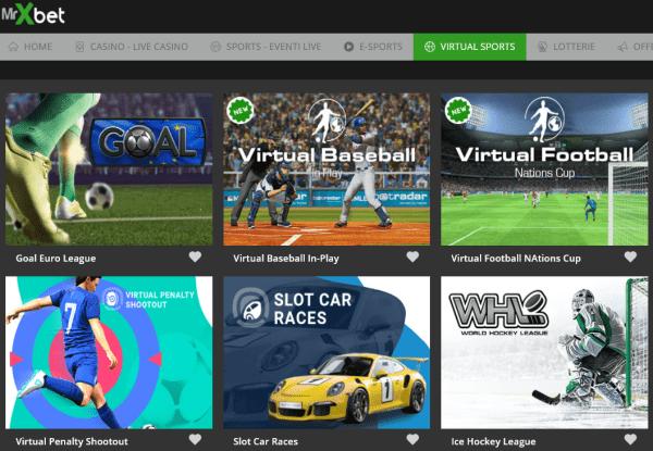 mrxbet scommesse sport virtuali