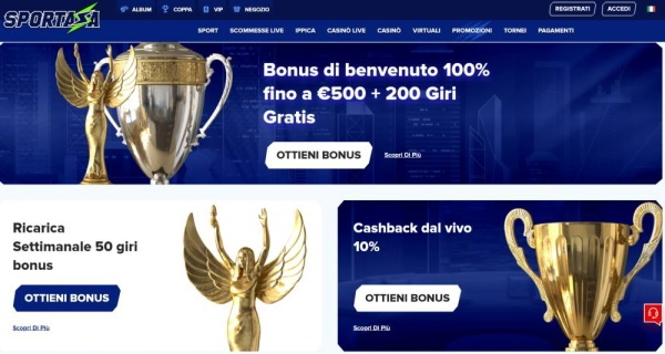 sportaza casino bonus